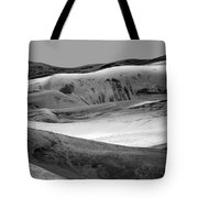 Great Sand Dunes - 1 - Bw Tote Bag