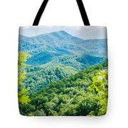 Great Smoky Mountains National Park Near Gatlinburg Tennessee. Tote Bag