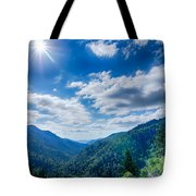 Great Smoky Mountains National Park On North Carolina Tennessee  Tote Bag