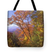 Great Smoky Mts From Blue Ridge Pkwy Tote Bag