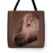 Great Sphinx At Musee Du Louvre Tote Bag