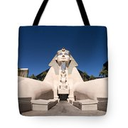 Great Sphinx Of Giza Luxor Resort Las Vegas Tote Bag