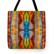 Great Spirit Abstract Pattern Artwork By Omaste Witkowski Tote Bag