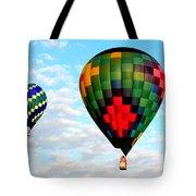 Great Texas Balloon Races Tote Bag