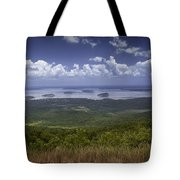 Great View On Top Of Cadilac Mountain Tote Bag