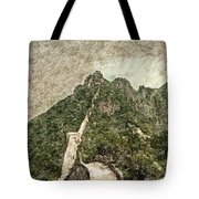 Great Wall 0033 - Colored Photo 2 Sl Tote Bag