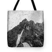 Great Wall 0033 - Graphite Drawing Sl Tote Bag