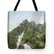 Great Wall 0033 - Light Colored Pencils Sl Tote Bag