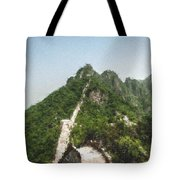 Great Wall 0033 - Pastel Chalk 2 Tote Bag
