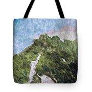 Great Wall 0033 - Watercolor 2 Sl Tote Bag