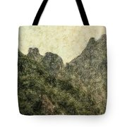 Great Wall 0043 - Colored Photo 2 Tote Bag