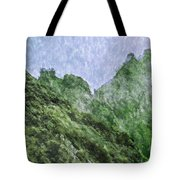 Great Wall 0043 -  Watercolor 2 Sl Tote Bag