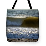 Great Wave Action Tote Bag