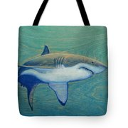 Great White Tote Bag by Nathan Ledyard