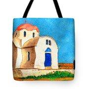 Greek Church 4a Tote Bag