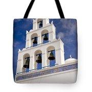 Greek Church Bells Tote Bag