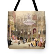 Greek Church Of The Holy Sepulchre Tote Bag
