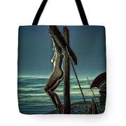 Greek Crucifixion Scene II Tote Bag
