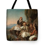Greek Freedom Fighters Tote Bag