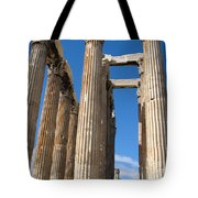 Greek Ruins Tote Bag