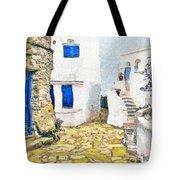 Greek Village 8 Tote Bag