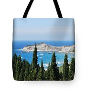 Green And Blue 1 Tote Bag