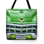 Green And Chrome-hdr Tote Bag