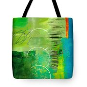Green And Red 5 Tote Bag