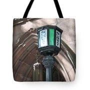 Green And White Tote Bag