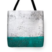Green And White Wall Texture Tote Bag