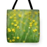 Green And Yellow Vintage Tote Bag