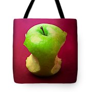 Green Apple Core 2 Tote Bag