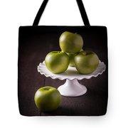 Green Apple Still Life Tote Bag