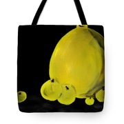 Apple And Vase  Tote Bag
