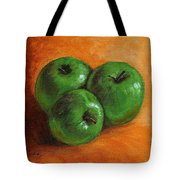 Green Apples Tote Bag