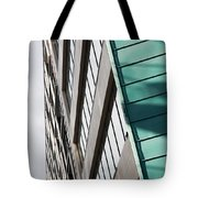 Green Architectural Detail Tote Bag
