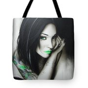 Green Ascension Tote Bag