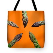 Green Asparagus - Fresh Food Photography Tote Bag