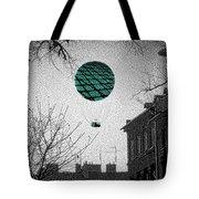 Green Balloon Tote Bag