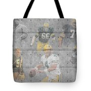 Green Bay Packers Legends Tote Bag