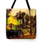 Green Beauty At Isle Of Palms Tote Bag