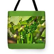 Green Berries Tote Bag by Kaye Menner