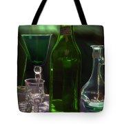 Green Bottle Tote Bag