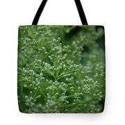 Green Bulbs By Jammer Tote Bag