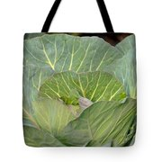 Green Cabbage Tote Bag