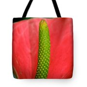 Green Candle Tote Bag