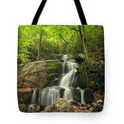 Green Canopy Above Laurel Falls Tote Bag