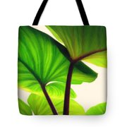 Green Canopy Pastel Tote Bag