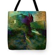 Green Castle Tote Bag