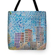 Green City In The Sun Tote Bag